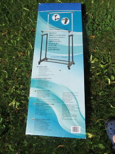 Double clothes rack for sale