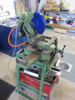 Cold saw metal THOMAS quality with 4 blades! Adamstown Heights Newcastle Area Preview
