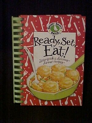 Gooseberry Patch Ready, Set, Eat! Cookbook First Print 54835