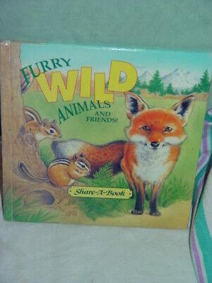 Furry Wild Animals & Friends 1993 Hardcover