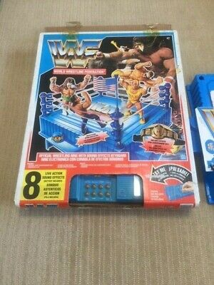 """Hasbro WWF figures only '91 edition Official Sound Ring US version"""" with o=26 z"""