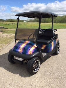 Golf Cart CUSTOM CLUB CAR GAS 2011 Regina Regina Area image 1