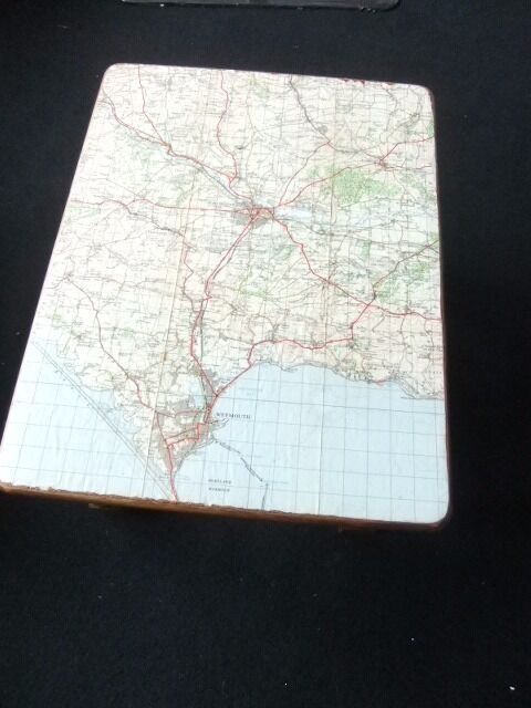 stool with map