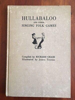 Rare 1949 Hullabaloo And Other Singing Folk Games  Piano  Bingo  1St Ed   Boston