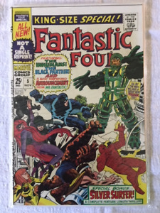 Fantastic Four King Size Special comic book #5 - 1st Pyscho Man.