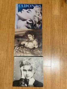 Madonna LP Vinyl (x3)