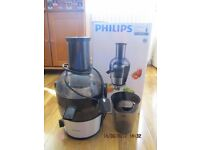 Philips Juicer HR1867 Viva Collection 700W 2L