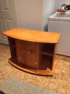 Solid wood Cabinet for fish/reptie tank