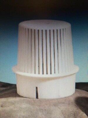 "2 pcs:  3"" INCH PVC PROVENT VENT GUARD  pipe bird screen, vent cap"