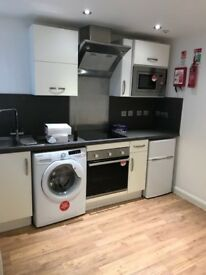 Ground Floor Studio Flat to Rent, with Yard - 10 Minutes from DMU