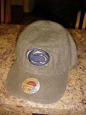 Penn Distressed Hat - Penn State Mitchell & Ness Distressed Hat/Cap New w/ Tags Adult L Free Ship Grey