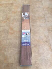 7 new boxes of laminate flooring UF1043 oil walnut
