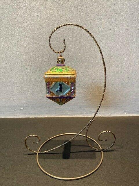 Dreidel, Dreidel, Dreidel with a stand Ornament by Christopher Radko