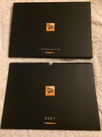 JCB CALENDAR 2007 LIMITED EDITION, BOXED..