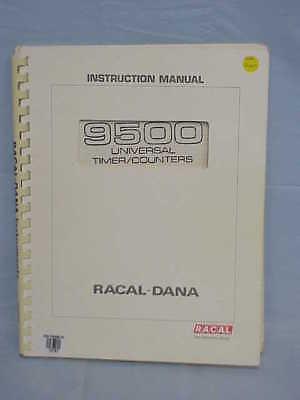 Racal-dana 9500 9510 9512 9514 9515 Instruction Manual