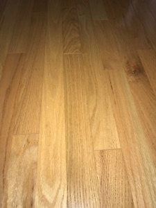 2 1/4 Nat Red Oak Hardwood Flooring Select+