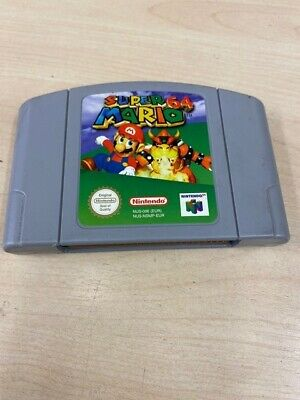 Genuine Original Super Mario Nintendo 64 N64 Video Game Cartridge