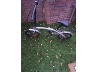 Fellia fold up bike cheap