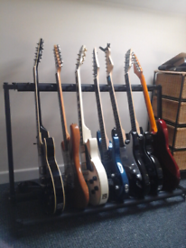 Guitar's and guitar gear for sale.