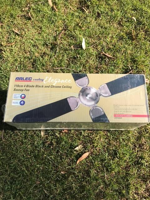 Arlec 110cm Cooling Fan Black Chrome Air Conditioning Heating Gumtree Australia Logan Area Greenbank 1191349545