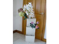 Shop display stand, three tiered, wooden construction