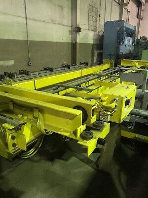 2009 Omh 15 Ton Overhead Bridge Crane 12 Ton Auxiliary Free Loading