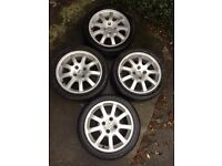 Alloy Wheels and Tyres for Peugot