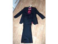 Remus Uomo Mens Suit - Black; Medium; Loose fit