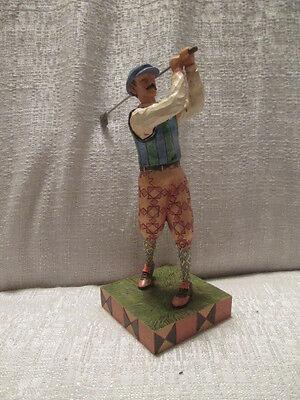 Jim Shore Time for Tee Golfer Golf Figurine 4026886