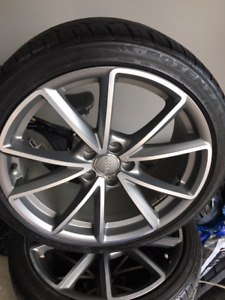 2015 Audi A4 OEM 19 in wheels and tires