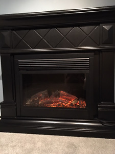 electric fireplace with fan  $100 or best offer