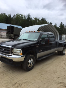 Pickup ford f-350  LARIAT  super duty 2003 double essieu