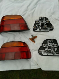 Set of BMW 5 Series E39 rear lights