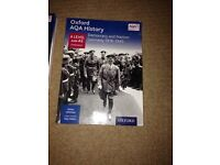 Oxford AQA A Level & AS History Democracy & Nazism: Germany 1918 - 1945