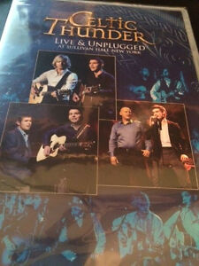 Celtic Thunder Live and Unplugged (DVD) Factory Sealed FAST SHIPPING