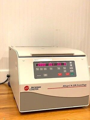 Beckman Coulter Allegra X-22r Bench Top Centrifuge With Rotor
