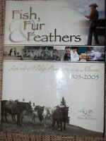 FISH, FUR AND FEATHERS Hard Cover Conservation Book