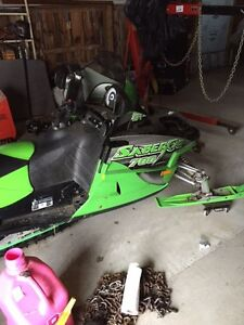 Arctic Cat trade for cab and chassis. Ford