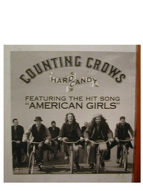 Counting Crows 2 sided Poster Flat The
