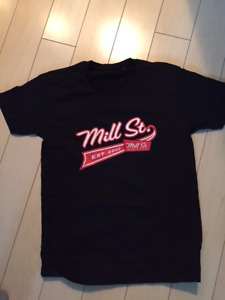 Brand new Mill St. Brewery women's small T-shirts