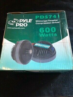 Pyle Pro PDS741 midrange tweeter compression driver 600 Watts