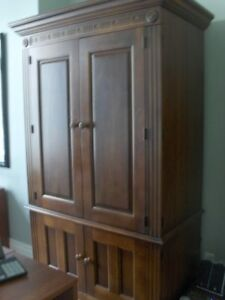 Solid Crafted Wood Cabinet