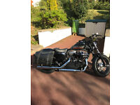 Harley Davidson 48,with Stage One Tune with Screaming Eagle Pipes and Air Filter,