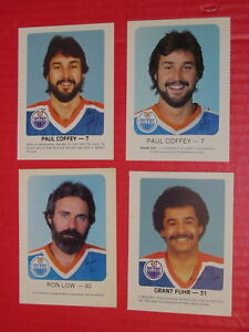For Sale: Edmonton Oilers Red Rooster cards x 10. Messier, Fuhr