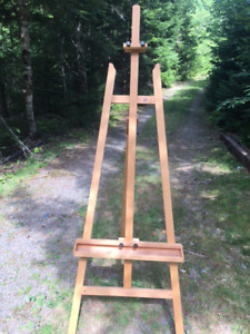 Le Paul Artist Easel Stand/Painting/ Canvas Stand For Sale