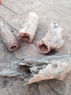 HOLLOW LOGS FOR THE GARDEN OR REPTILE PIT Albion Park Rail Shellharbour Area Preview