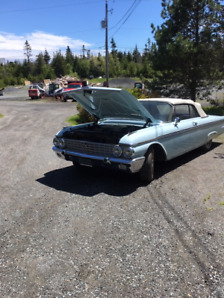 1962 Ford Galaxie 500 XL, convertible.