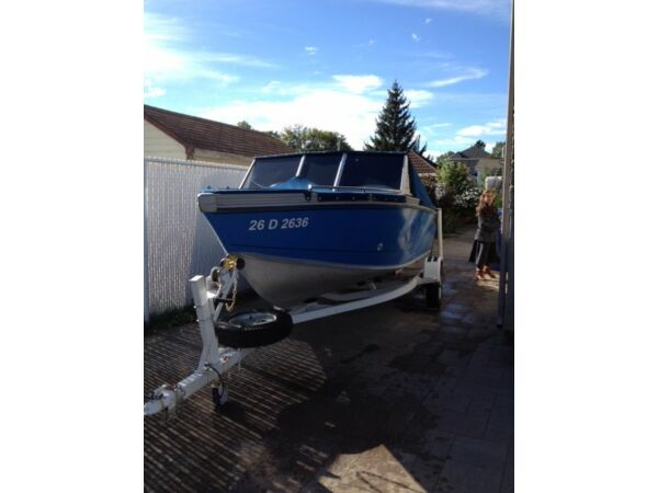 Used 1995 Lund Boat Co Adventure, Fisherman