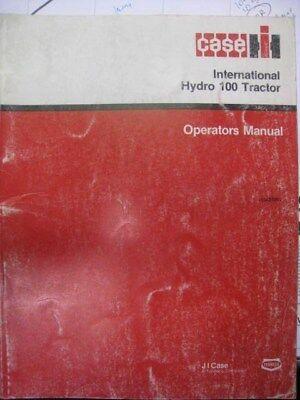 International Hydro 100 Tractor Operators Manual 1084273r2