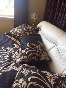 King Bed Mattress pillow cases Beddings Genuine Leather Sale Shelley Canning Area Preview